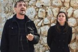 Combate de 'glosadors' en el Teatre d'Alaró