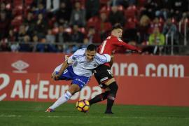 El Mallorca, a remolque en un partido loco, empata a dos ante el Zaragoza