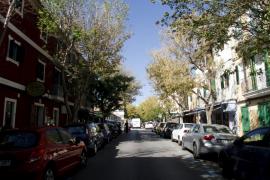 Incendian las puertas de dos domicilios de la calle Anníbal de Palma