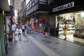 Las ventas en octubre bajan para casi la mitad del pequeño comercio de Mallorca