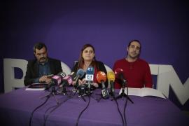Huertas y los otros apartados de militancia «no hablan en nombre de Podemos»