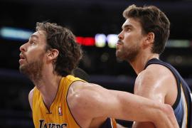 Los Lakers borran de la pista a los Grizzlies
