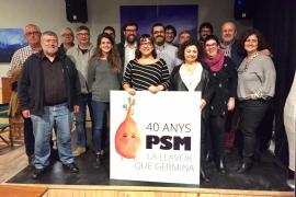 El PSM celebra su 40 aniversario «al servicio de Mallorca»