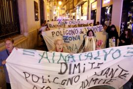 Nuevas protestas por el deplorable estado del polideportivo Borja Moll