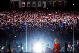 Trump y Clinton cierran sus campañas a la Presidencia de EEUU
