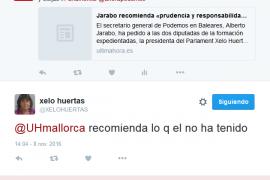 Jarabo recomienda «prudencia y responsabilidad» a Huertas y Seijas