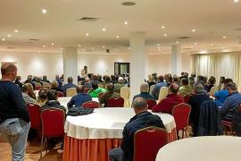Delgado 'desembarca' en la junta del PP de Calvià