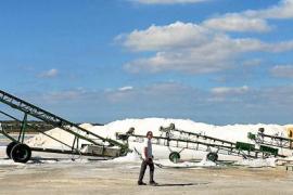 La cosecha de sal en las salinas de es Trenc-es Salobrar finaliza con buenas previsiones