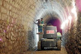 Restaurando un túnel centenario
