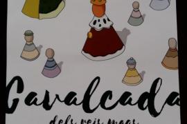 'Figures Màgiques', cartel ganador de la cabalgata de los Reyes Magos 2017 de Palma