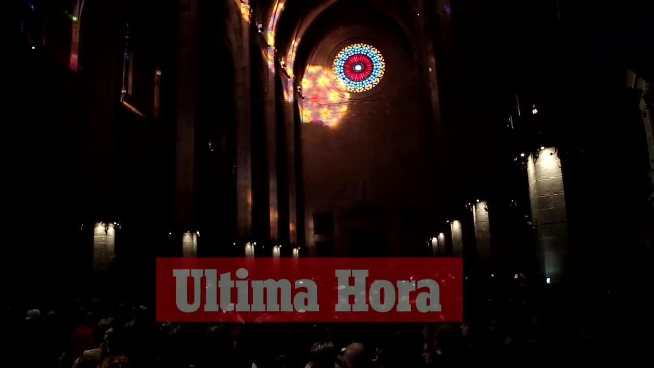 Última cita del año con el 'espectacle del vuit' en la Catedral de Mallorca