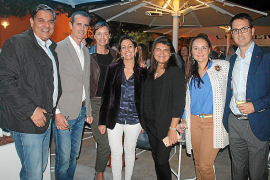 Gran fiesta de presentación del restaurante Baiben de Puerto Portals