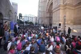 El colegio Sagrat Cor visita la Seu