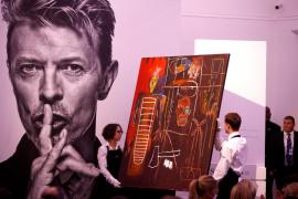 La colección de arte privada de David Bowie se vende por 36,5 millones euros