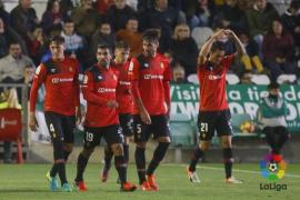 Brandon conduce al Mallorca a su primera victoria como visitante