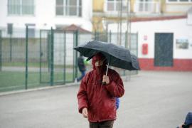 El domingo puede acabar en Balears con chubascos ocasionalmente fuertes