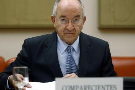 Miguel Angel Fernandez Ordoñez, gobernador del Banco de España.