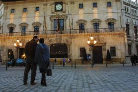 C's Palma quiere que el encendido de luces de Cort coincida con el 'Black Friday'