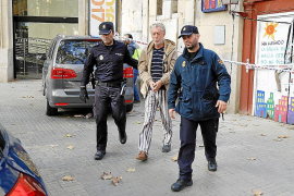 El forense concluye que el pirómano detenido en Palma no sufre ningún trastorno