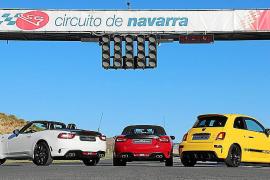 El 'Abarth Day 2016' reúne a 1.200 aficionados en Navarra