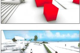 Empresarios de Magaluf presentan un proyecto de reforma para Punta Ballena