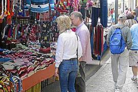 Los vendedores del mercadillo de Sóller solo podrán optar a 20 metros cuadrados