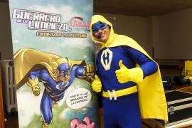 Los superhéroes enseñan reciclaje a los escolares de Santa Eulària y Sant Josep