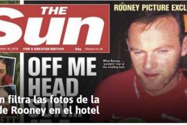 Rooney, ebrio tras colarse en una boda privada
