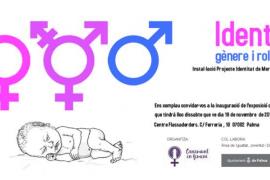 Inauguración de la exposición 'Identitat, gènere i rols socials' en el Centre Flassaders