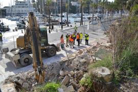 Un almacén ocupará, en Porto Cristo, el lugar en el que se encontraban los varaderos recién derribados