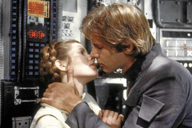 Carrie Fisher mantuvo un «intenso» romance con Harrison Ford en 'Star Wars'