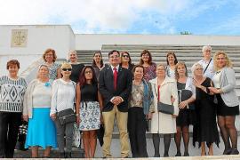 Encuentro de paracaidistas de la BRIPAC en Palma