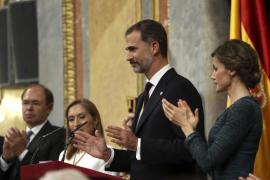 El Rey pide diálogo impulsado por el espíritu «fraternal» entre los españoles