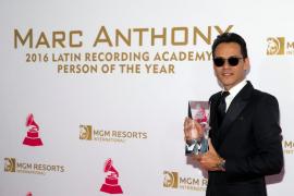 Marc Anthony nombrado como Persona del Año en los Grammy Latino