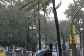 Alerta naranja en Balears por la previsión de vientos de hasta 80 km/h