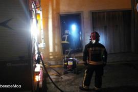 Incendio en un garaje en Moscari