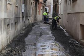 Emaya sustituirá de urgencia 330 metros de tuberías de agua potable en Pere Garau