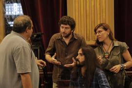 Jarabo: «No hay duda sobre el abandono de la Presidencia si Huertas es expulsada del grupo de Podemos»