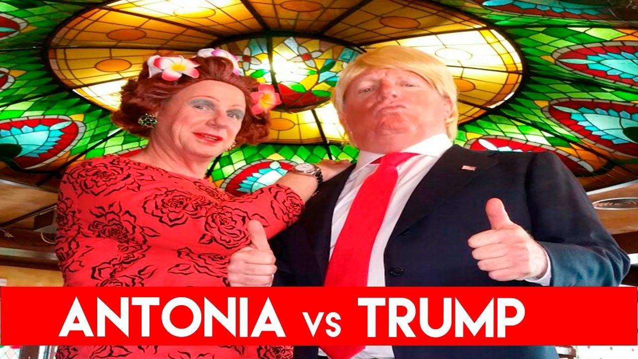 Los Morancos parodian la victoria de Donald Trump