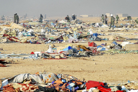 Asalto militar de Marruecos en el Sáhara
