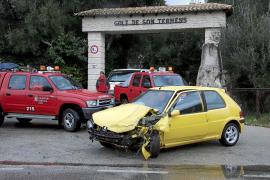 La lluvia provoca numerosos accidentes en las carreteras de Mallorca