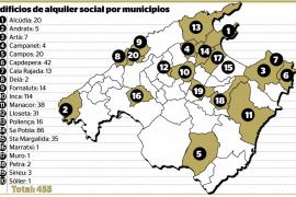 Casi 500 personas esperan una vivienda de alquiler social en la Part Forana