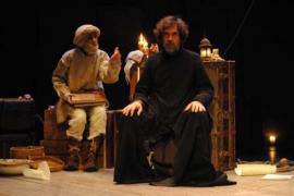 Iguana Teatre lleva la figura de Ramon Llull a Santanyí con 'Phantasticus'