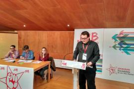 Juan Andrés García, nuevo secretario general de las Juventudes Socialistas de Mallorca