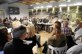 Bauzá reúne a 40 afiliados en su primer acto como candidato a presidir el PP