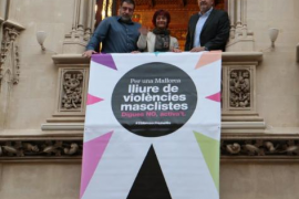 El Consell exhibirá en todas sus sedes la bandera contra la violencia a las mujeres