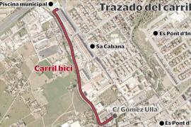 Sa Cabana tendrá un carril bici y mejoras en Es Liceu