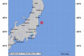 Un terremoto de 7,3 grados sacude el norte de Japón y activa la alerta de tsunami