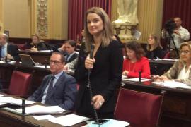 Rifirafe en el Parlament por la opción de compra de Armengol de un piso en Palma