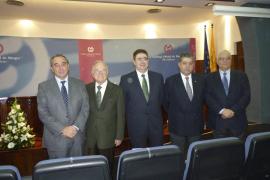 Presentación de la nueva junta de gobierno del Colegio Oficial de Médicos